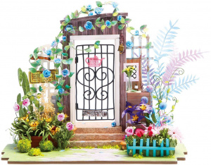 Robotime dollhouse Garden entrance wood junior 22 cm (DGM02)