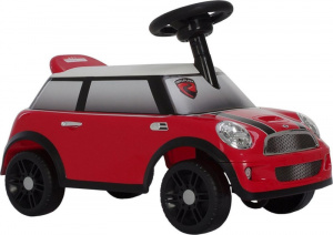 Rollplay carrier Mini Cooper60.5x30.5x37.5 cm red