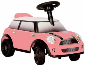 Rollplay walking car Mini Cooperpink 60,5 cm
