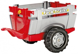 Rolly Toys remorque RollyFarm rouge / argent junior