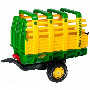 Rolly Toys Trailer RollyHay junior green / yellow