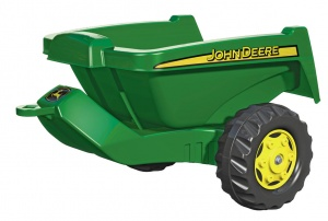 Rolly Toys Trailer RollyKipper II John Deere junior green
