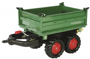 Rolly Toys Trailer RollyMega junior green / red