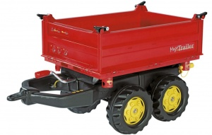 Rolly Toys Trailer RollyMega junior red