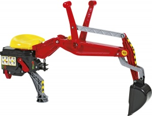 Rolly Toys Backhoe red