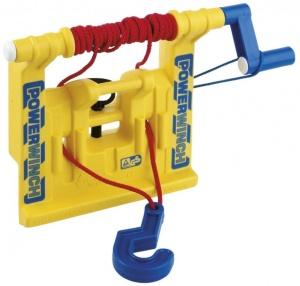 Rolly Toys treuil Powerwinch jaune