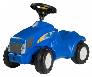 Rolly Toys Roller tractor RollyMinitrac NH T6010 Junior Blue