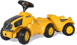 Rolly Toys running tractor RollyMinitrac Volvo junior 97 cm yellow