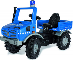 Rolly Toys RollyUnimog Police Junior Blue/Black