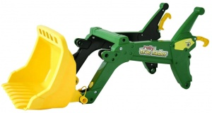 Rolly Toys Chargeur RollyTrac John Deere vert / jaune