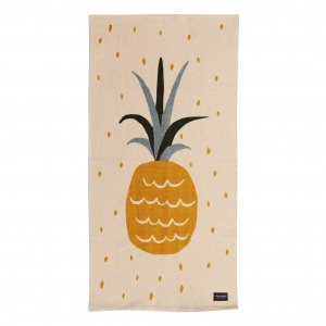 Roommate geweven vloerkleed Pineapple junior 70 x 140 cm
