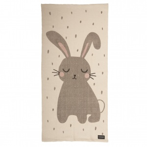 Roommate geweven vloerkleed Rabbit junior 70 x 140 cm