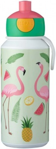 Rosti Mepal Tropical Flamingo Pop-Up Drinking Cup 400ml -  (2018)