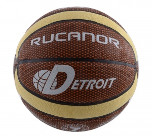 Rucanor basketbal Detroit oranje maat 7