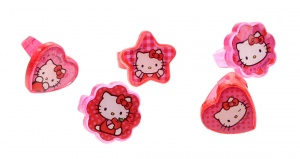 Sanrio Hello Kitty ringen set 5 stuks