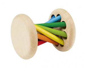 Selecta Spielzeug rattle Mikadojunior 15 cm wood natural