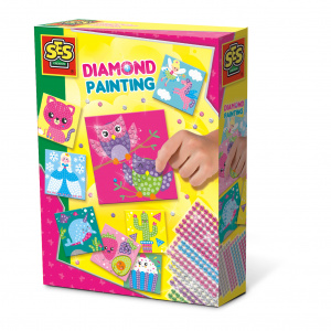 SES Creative diamond painting junior knutselset