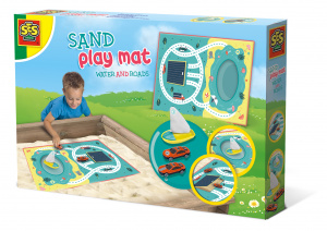 SES Creative sand play mat with water and roads