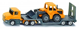 Siku Low loader front loader yellow / black (1616)