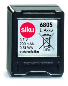 Siku racing : batterie rechargeable (6805)