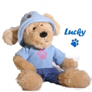 Simply for Kids Creative Set Knuffelhond Lucky
