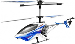 Sky Rover RC helikopter Exploiter S 40 cm wit/blauw