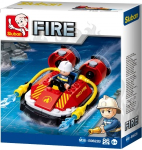 Sluban Fire: Hoovercraft (M38-B0622B)