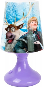 Joy Toy Frozen LED-Tafellamp 19 cm paars