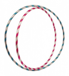 Small Foot Glitter Hula Hoop Set: rose et bleu 71 cm 66 cm