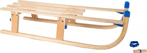 Small Foot wooden folding sledge 109 x 32 x 23 cm