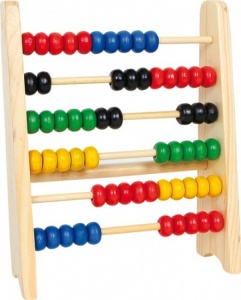 Small Foot Small Wooden Abacus 5 X 18 X 20 cm