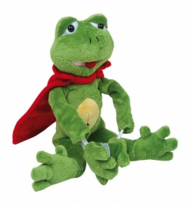 Small Foot Plush toy Flying Frog