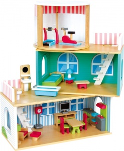 Small Foot doll's house complete 24-piece