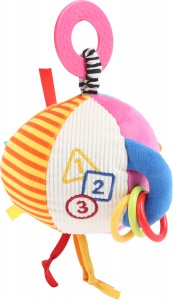 Small Foot rammelaar Babybal junior 23 cm pluche