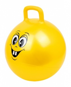 Small Foot Skippyball Smiley gelb 45 cm