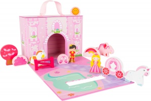 Small Foot playsuit princess castle pink 25 cm