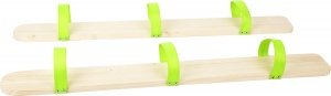 Small Foot summer skis green