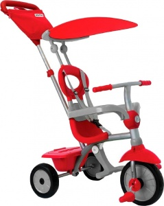 smarTrike Zip Plus Junior Rood/Grijs