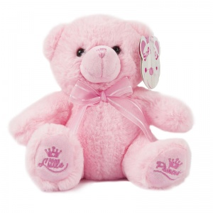 Soft Touch knuffelbeer Little Princess 18 cm roze