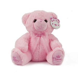 Soft Touch knuffelbeer Little Princess 25 cm roze