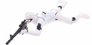 Toi-Toys Space Wars speelpop Space Soldier 35 cm wit