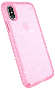 Speck telefoonhoes Presidio Clear Apple iPhone X/XS roze