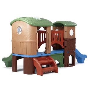 Step2 playhouse Clubhouse Clubhouse Climber marron 178 x 348 x 232 cm