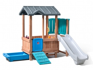 Step2 playhouse with slide Woodland Adventure193 cm brown / blue