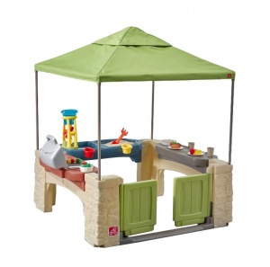 Step2 playhouse All Around Playtime Patio vert 152 cm