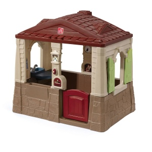 Step2 playhouse Neat & Tidy Cottage II brown 163 cm