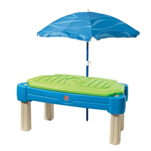 Step2 sand & water table Cascading Cove 107 cm blue