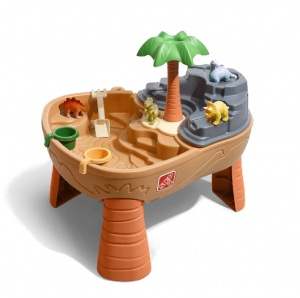 Step2 sand and water table Dino Dig 83 cm brown-S
