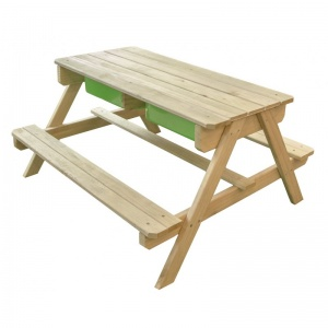 Sunny Dual Top sand, water and picnic table blank 90 cm