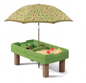 Step2 sand & water table Naturally Playful 66 cm green